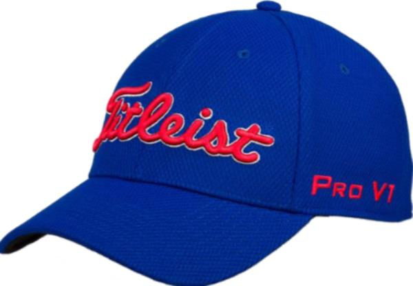 edeb093f4ec Details about Titleist TOUR ELITE TREND Fitted Cap  Hat-Royal
