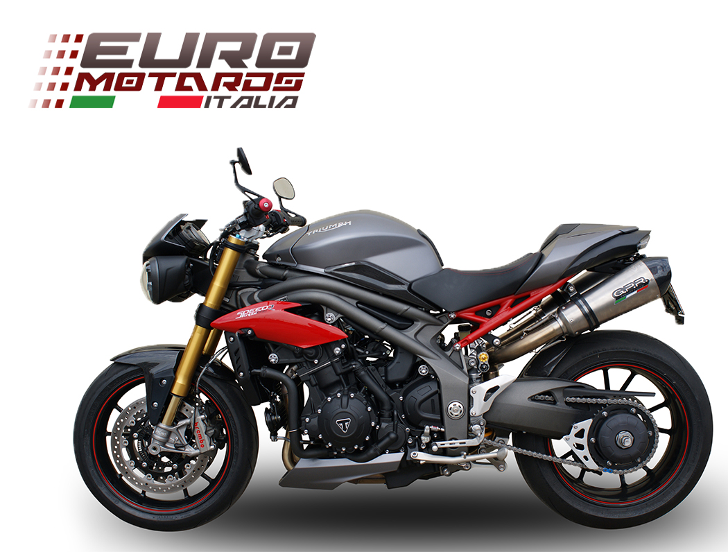 triumph speed triple 1050 r 2016 1in2 gpr exhaust slipon. Black Bedroom Furniture Sets. Home Design Ideas