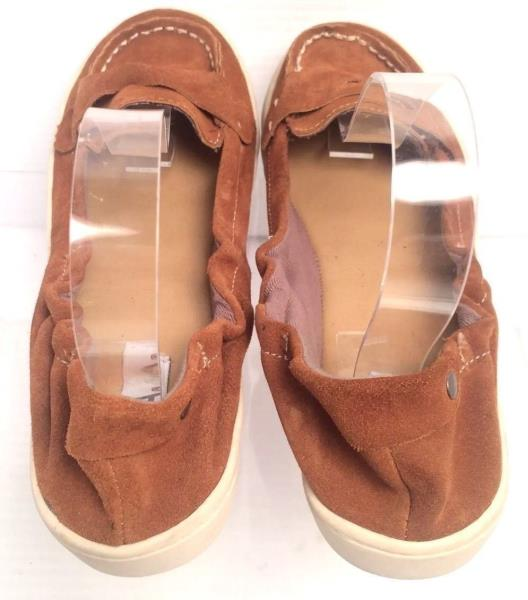 Women's Shoes MIA Casual Flat Shoes Brown Suede Size 7M