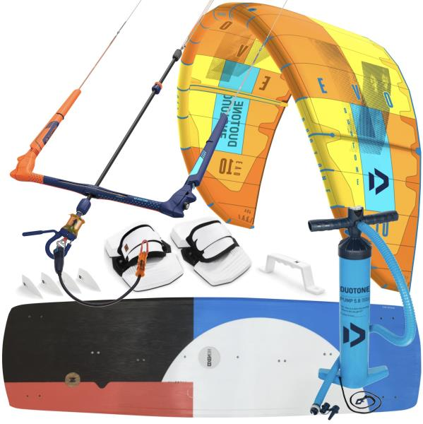 Details about 2019 Duotone EvoLaluz Kiteboarding Package