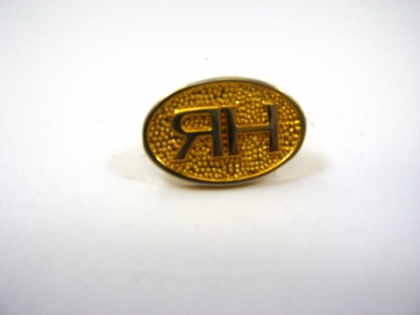 Vintage Collectible Pin Rh Backwards R Logo Gold Tone Design Ebay It is the last letter in russian alphabet. usd