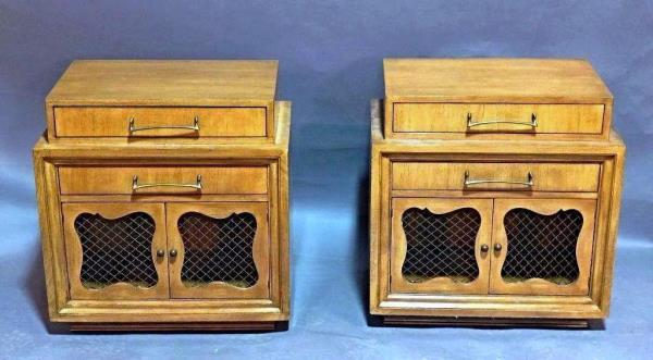 Mid Century Nightstands Side Tables Cabinets Chest Dresser Mirror
