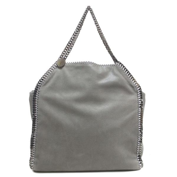 Stella McCartney Light Grey Shaggy Deer Falabella Big Tote  690e576762c5d