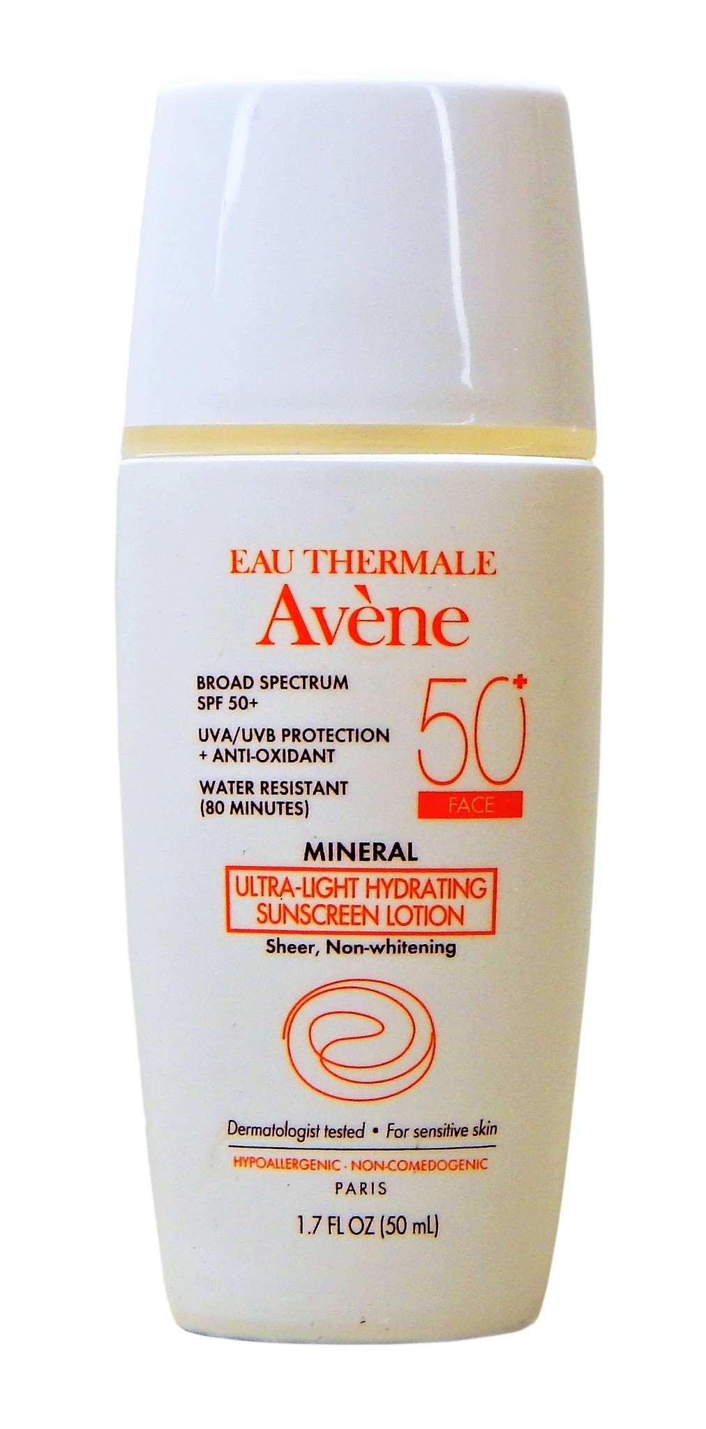 ec31ac92a992 NEW Eau Thermale Avene Mineral Ultra-Light Hydrating Sunscreen Lotion Sheer
