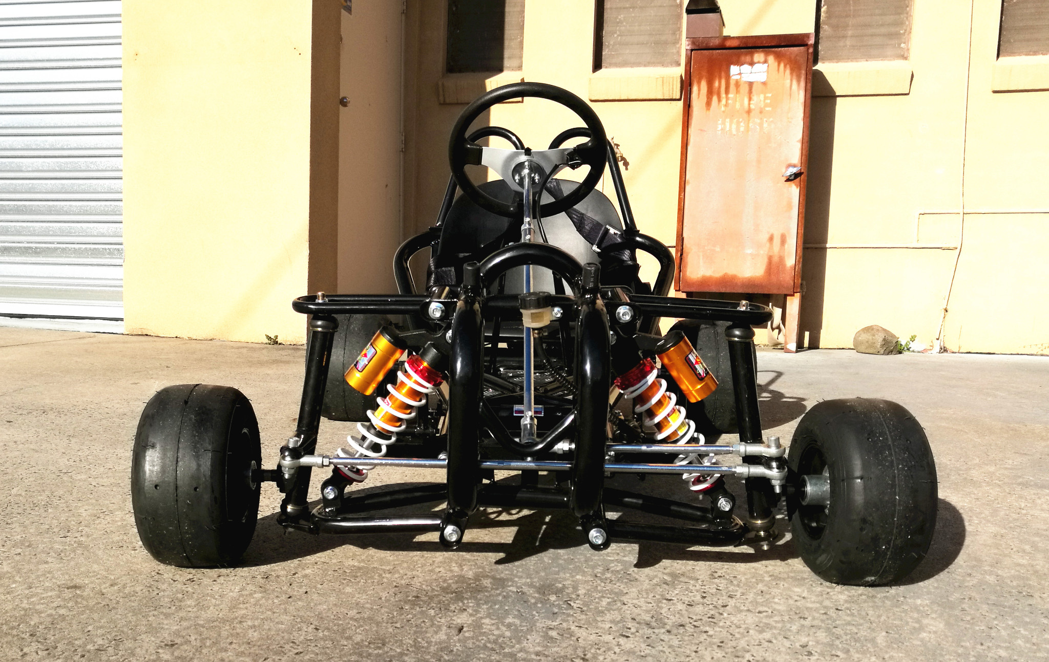 how to build a drift go kart