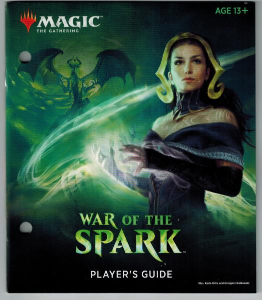 Bundle Insert MTG Magic Player/'s Guide Book ONLY DOMINARIA