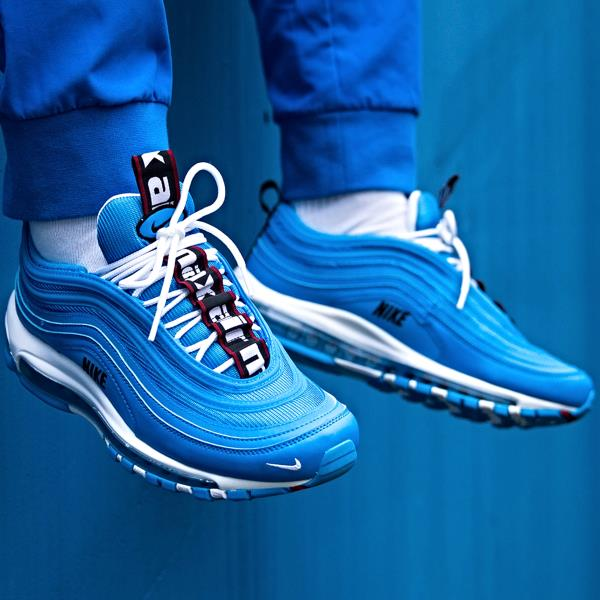 89bbed40e88 Details about Nike Air Max 97 Premium 'Blue Hero' Size 7 8 9 10 11 12 13  Mens Shoes 312834-401