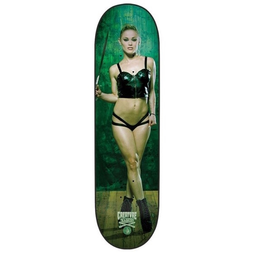Creature Skateboard Deck Babes Ash 8.25 W/ FREE Playing Cards FREE GRIP FREE POST