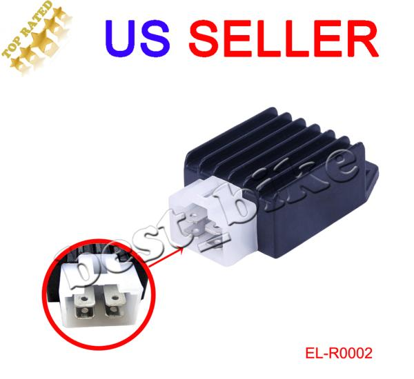 Details about Voltage Regulator Rectifier for Yerf Dog SpiderBox GX150  150cc Go Kart