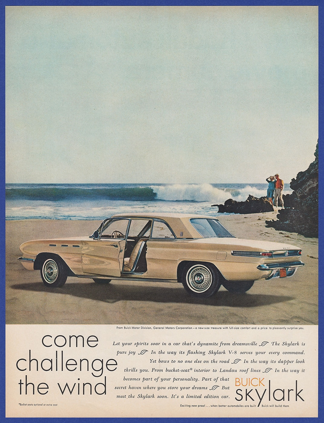 Vintage 1961 Buick Skylark 2 Door Automobile Car Print Ad 60s Ebay 1951 Convertible For Sale I Combine Shipping At No Extra Charge Add 3 Or More Ads To The Cart And Receive Free Checkout