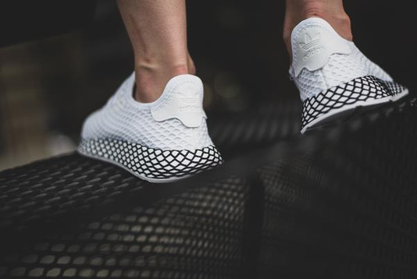 2f7b8c104 Adidas Deerupt Runner Sneakers Future White Size 8 9 10 11 12 Mens NMD  Boost New. 100% AUTHENTIC OR MONEY BACK GUARANTEED