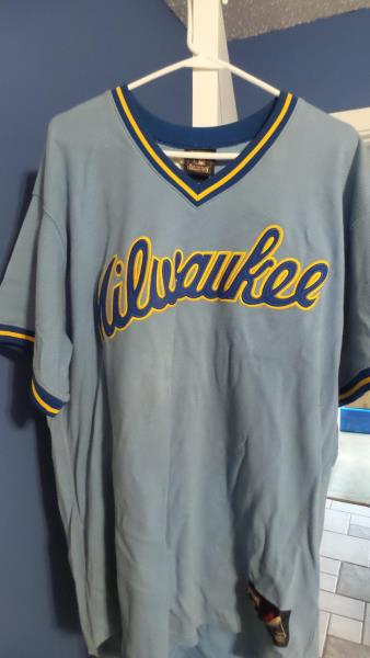 competitive price 598ab 66275 Details about Majestic Cooperstown Collection Milwaukee Brewers Robin Yount  Jersey (Size 2XL)