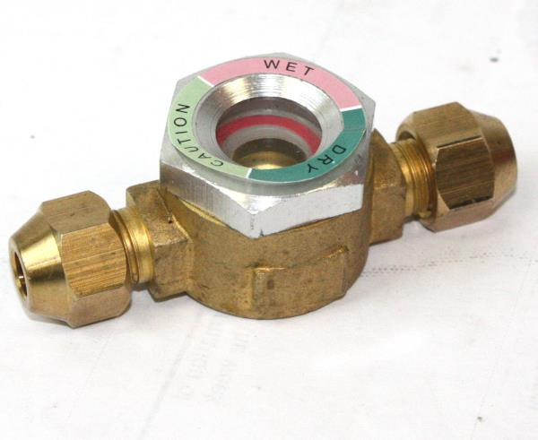 Hvac ac tube jointing sight glass quot sae o d w moisture
