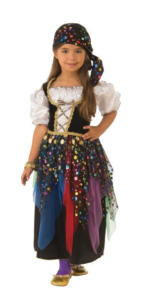 d6fc120313 Gypsy Child Girls Costume NEW Fortune Teller | eBay