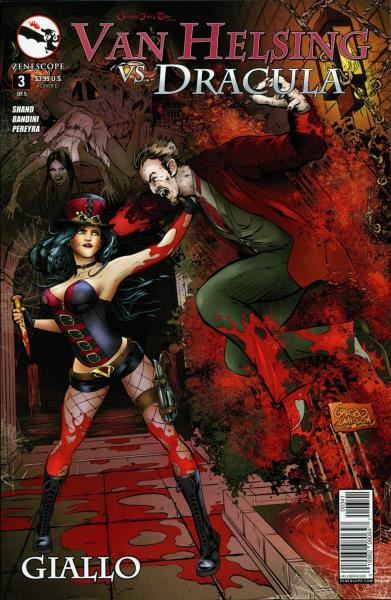 Grimm Fairy Tales Presents ~ Zenescope 3A cover Helsing #3