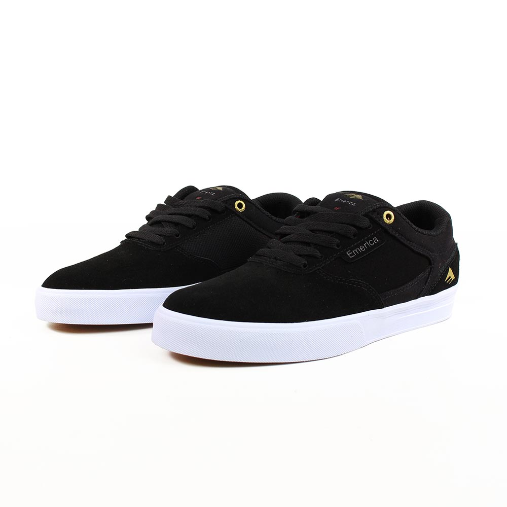 Emerica Shoes Empire G6 Black White Skateboard Sneakers FREE POST