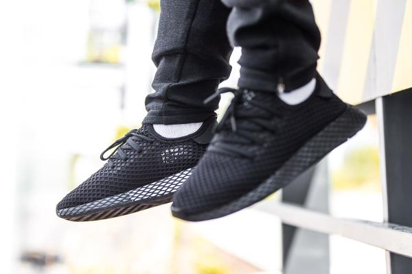 ca29a230a Adidas Deerupt Runner Sneakers Core Black Size 8 9 10 11 12 Mens NMD Boost  New. 100% AUTHENTIC OR MONEY BACK GUARANTEED