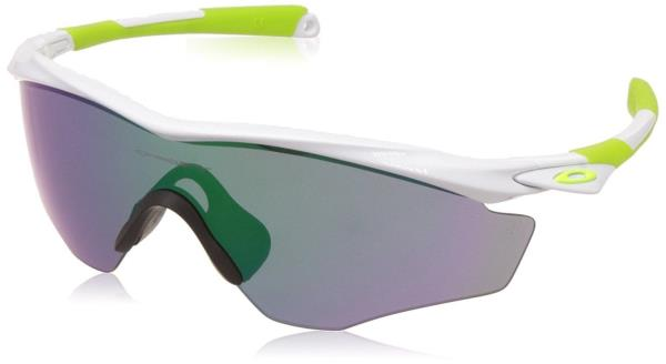 f6da38d15ee7c  OO9343-07  Mens Oakley M2 Frame XL Sunglasses Polished White Jade Iridium