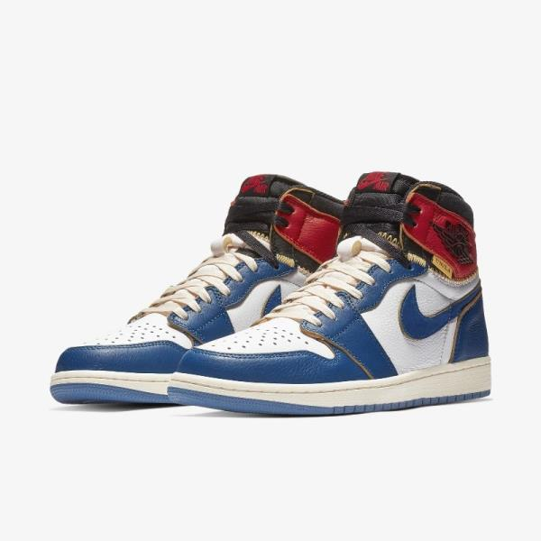 584b53881069 Nike Air Jordan 1 High x Union Red Blue Size 7 8 9 10 11 12 Men New  BV1300-146. 100% AUTHENTIC OR MONEY BACK GUARANTEED