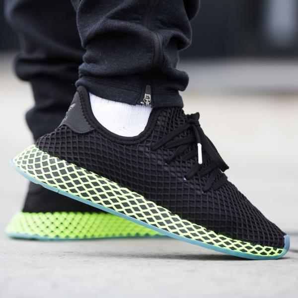 6b941463e Adidas Deerupt Runner Sneakers Core Black Size 8 9 10 11 12 Mens NMD Boost  New
