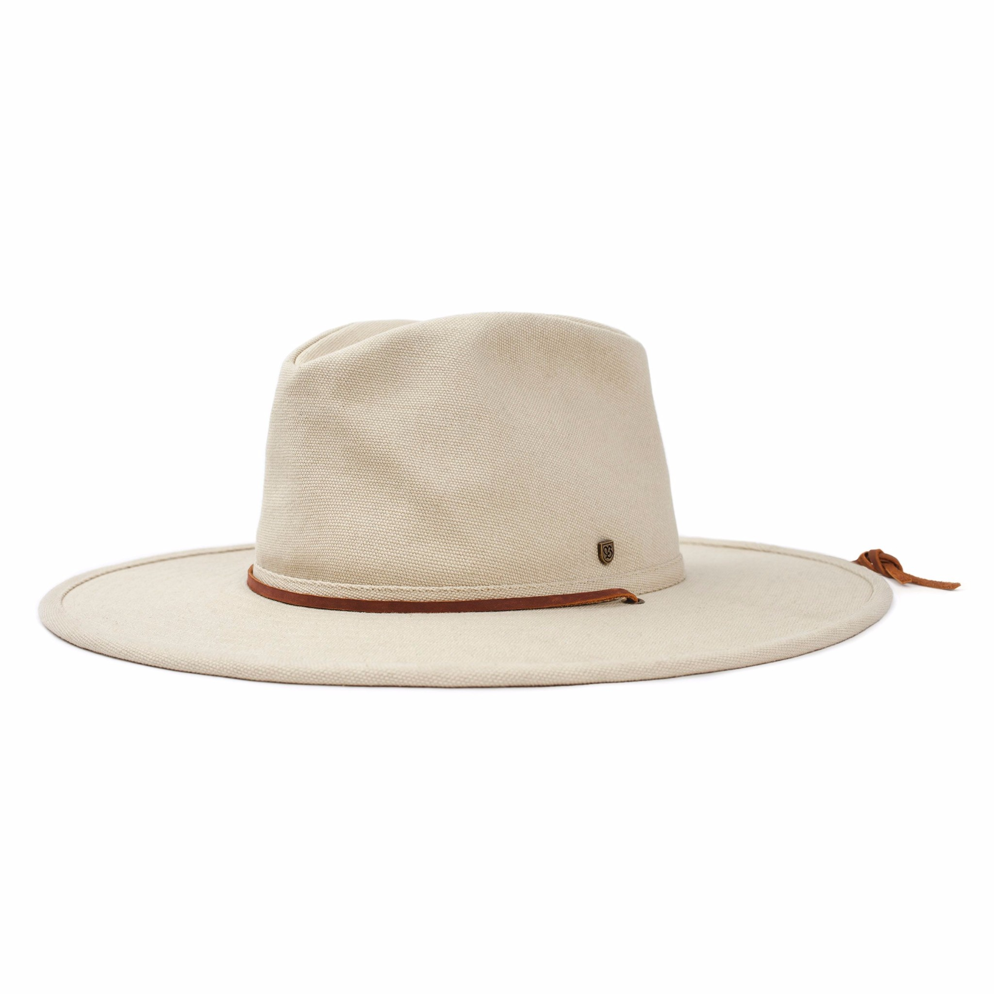 Brixton Ranger Natural Size Small Wide Brim Cotton Skateboard Bush Hat FREE POST New