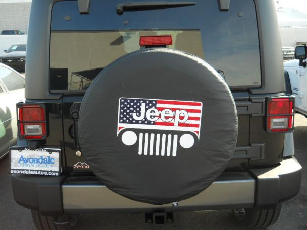 "JEEP Wrangler Liberty All American Flag 33"" Inch Soft"