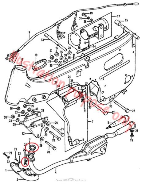 Honda Trx300ex Carburetor Diagrams Honda Trx300 Fourtrax Tank Decal