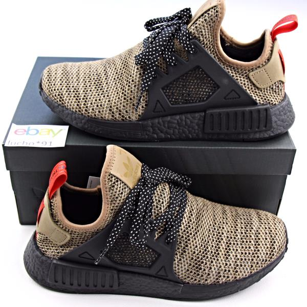 ADIDAS NMD XR1 TRIPLE BLACK KHAKI LIMITED SIZES 7-13 BOOST ULTRA PHARRELL  CAMO