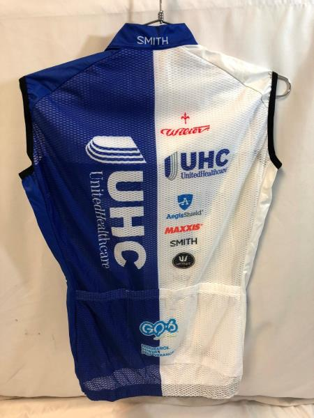 United Healthcare Vermarc Mens Pro Cycling Vest Small Light Road Bike UHC  NEW 30620699b