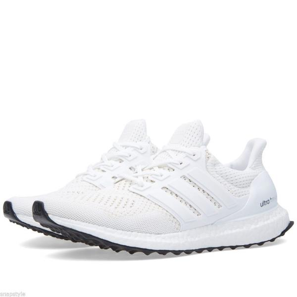 best sneakers 8e1ba e933c Details about [S77416] Adidas Ultra Boost M 1.0 White Ultraboost Kanye West  Running Sneaker