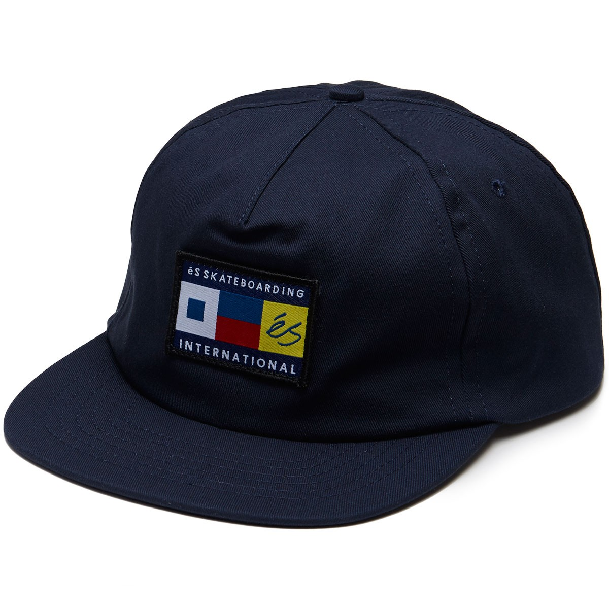 eS Shoes Nautical Cap Navy Unstructured Snapback FREE POST New Skateboard Hat