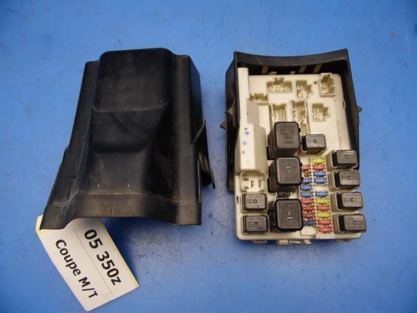 03 05 nissan 350z z33 oem under hood fuse box w fuses \u0026 relays Ford Bronco Fuse Box