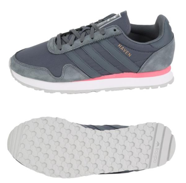 Adidas Men Originals Haven Shoes Running Gray Sneakers Boot Casual ... eca0698bcb41b