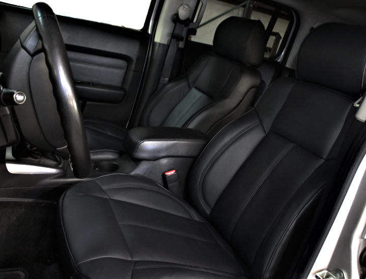2006 2010 Hummer H3 Complete Fac Black Or Tan Leather Upholstery