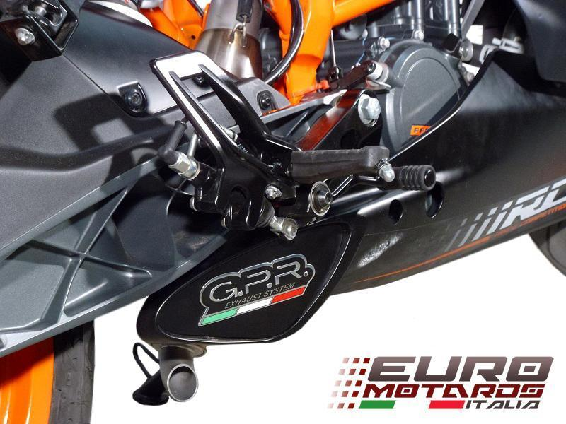 KTM Rc 125 200 Gpr Exhaust Systems Deeptone Ghost Steel Silencer Road Legal: KTM Rc Exhaust At Woreks.co