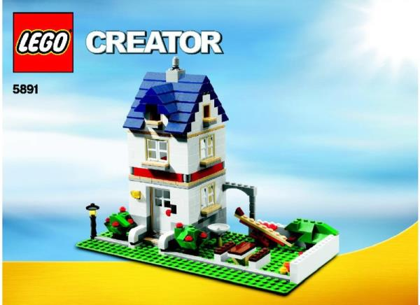Lego 5891 Apple Tree House Instructions Only Set Of All 3 Manuals