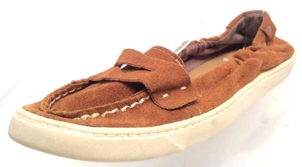 Women's Shoes MIA Casual Flat Shoes Brown Suede Size 8.5M