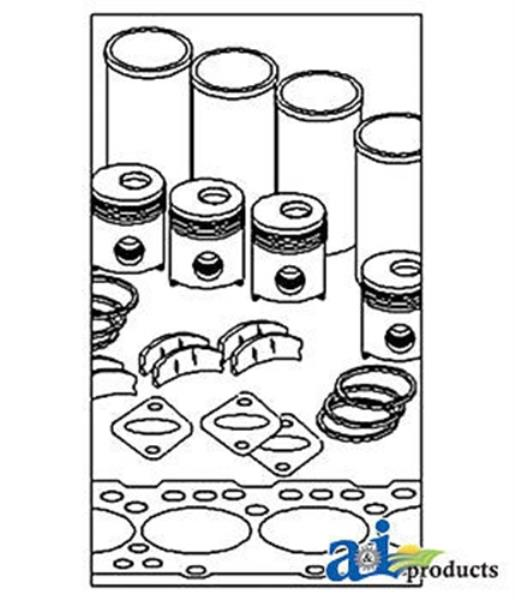 John Deere Parts In Frame Overhaul Kit Ik66097 850g 6 8d 6 8t W