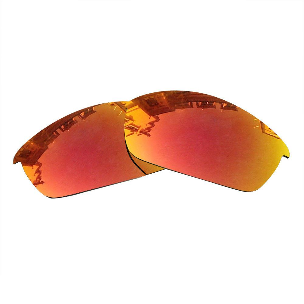 ac318bc694 Oakley Flak Jacket Replacement Polarized Mirrored Lenses Sunglasses ...