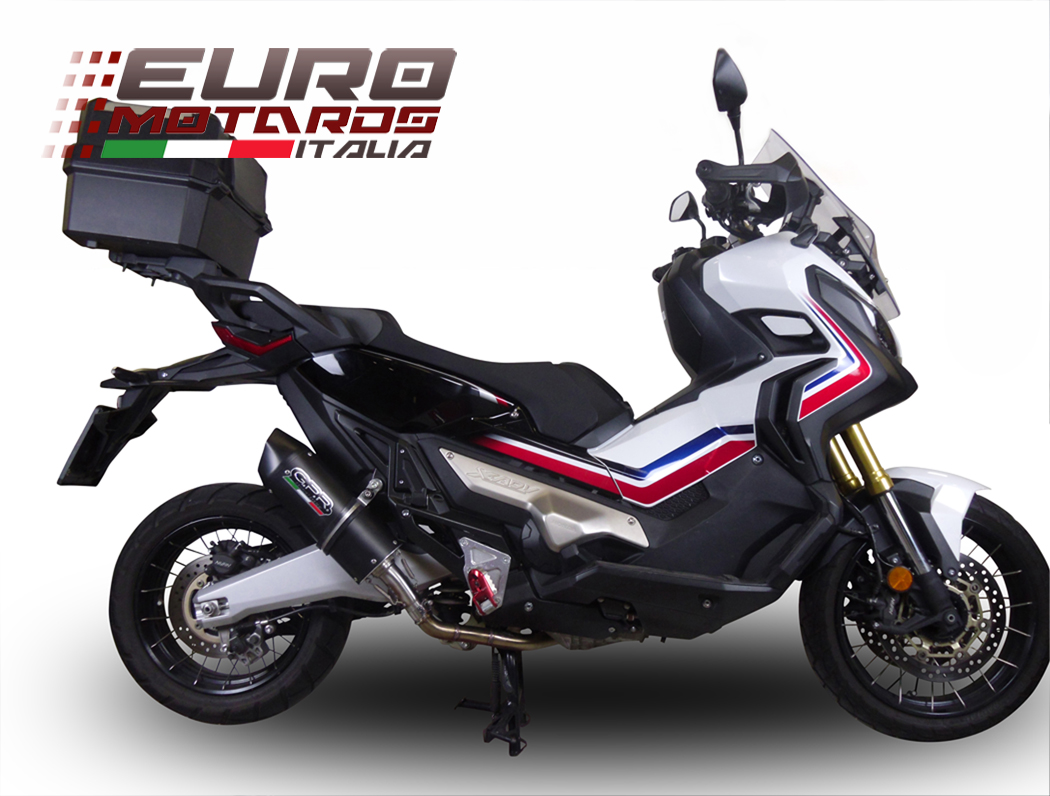honda x adv 750 2016 2018 gpr exhaust gpr exhaust full system furore nero new ebay. Black Bedroom Furniture Sets. Home Design Ideas