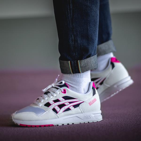 new arrival 0ef7a ce198 Details about Asics Gel Saga Sneakers Pink Glo Size 8 9 10 11 12 Mens Shoes  New