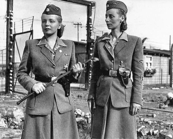 Details about WW2 German SS Female PRISON GUARDS Photo (176-w )