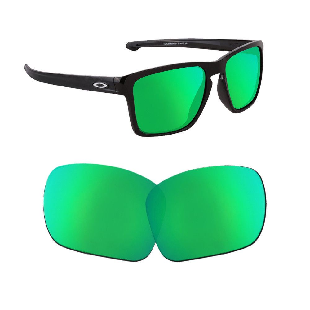 cc1377a554 Details about Polarized Replacement Lenses For-Oakley Holbrook Sunglasses  Emerald Xmas Gifts