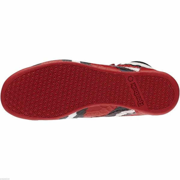 640fedd79253 ... Reebok Melody Ehsani Collab Freestyle HI Red Sneaker - MSRP  175.  Style  M48396 Color  Red Rush Chalk Black Gender  Womens. Shipping Returns
