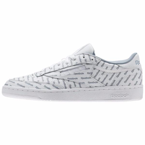 f220c450693 ... Reebok Classics Club C 85 SO Sneaker - White Print. Style  BS5215  Color  Prnt-White Mtr Gry Prml R Gender  Mens
