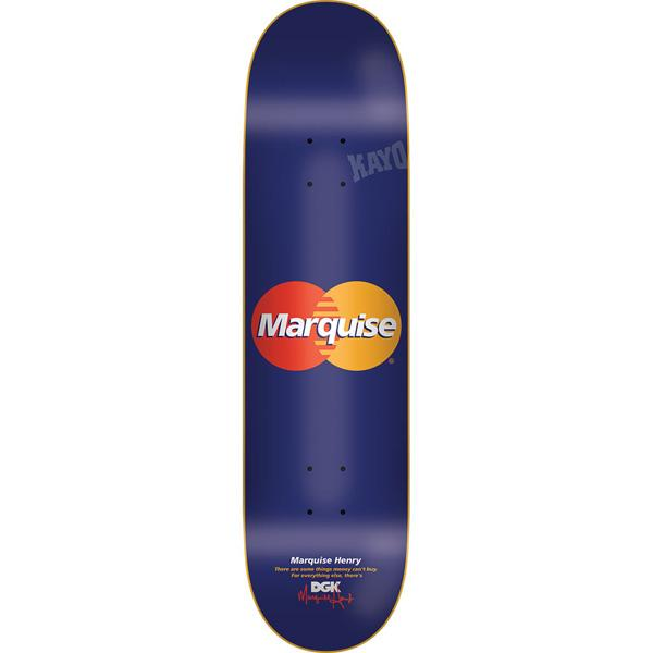 DGK Skateboard Deck Marquise Henry 8.1 Cease Desist FREE GRIP POST Dirty Ghetto Kids