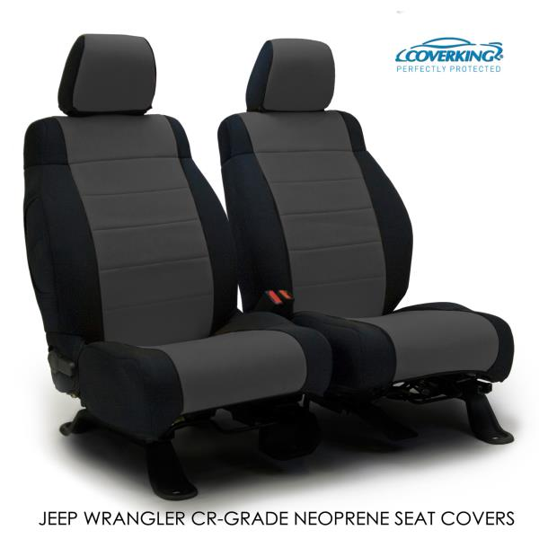 Enjoyable Details About 2015 Jeep Wrangler Jk Genuine Neoprene Charcoal Seat Covers By Coverking Machost Co Dining Chair Design Ideas Machostcouk