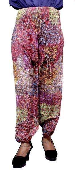 fbe5240c511 Yoga Trouser Baggy Genie Harem Boho Travel Indian Rayon Pants