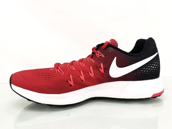 Nike Air Zoom Pegasus 33 Mens Running Shoes Red 831352 601 Size US ... cce43a52b
