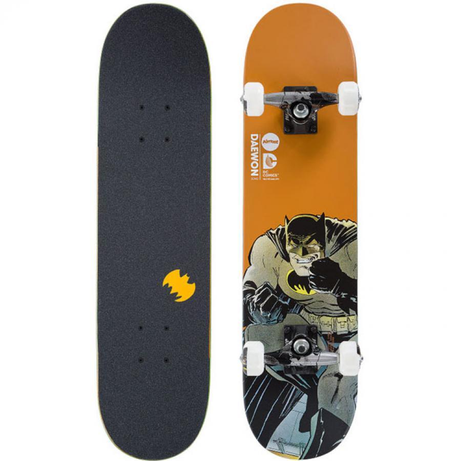 Almost Skateboard Complete DC Comics Mid Batman Dark Knight 7.25 Daewon Song Pro FREE POST
